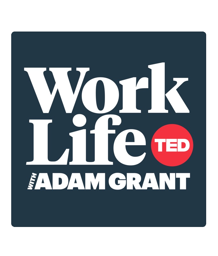 Cover image for Adam Grant WorkLife podcast