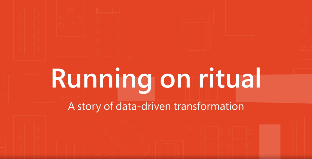 Running on ritual to reinvent work