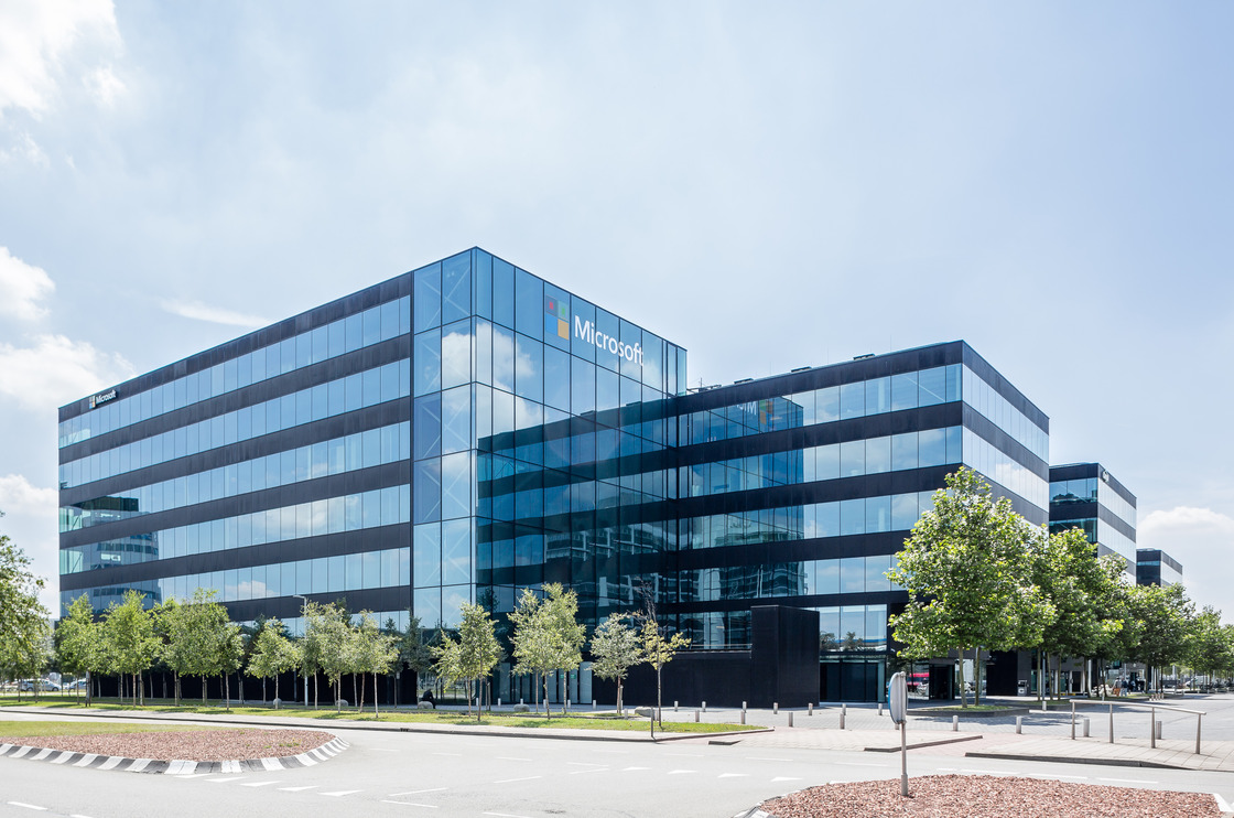 Microsoft campus in the Netherlands